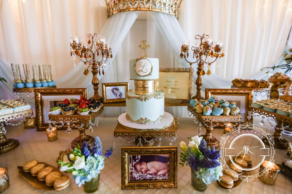 Prince themed baptism