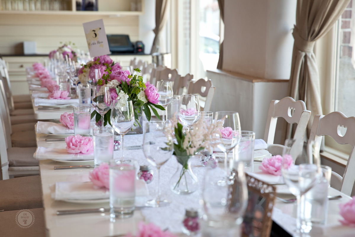 pretty in pink - bridal shower