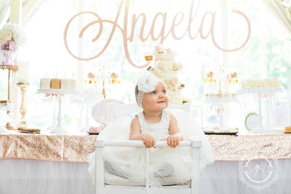 A little angel's baptism