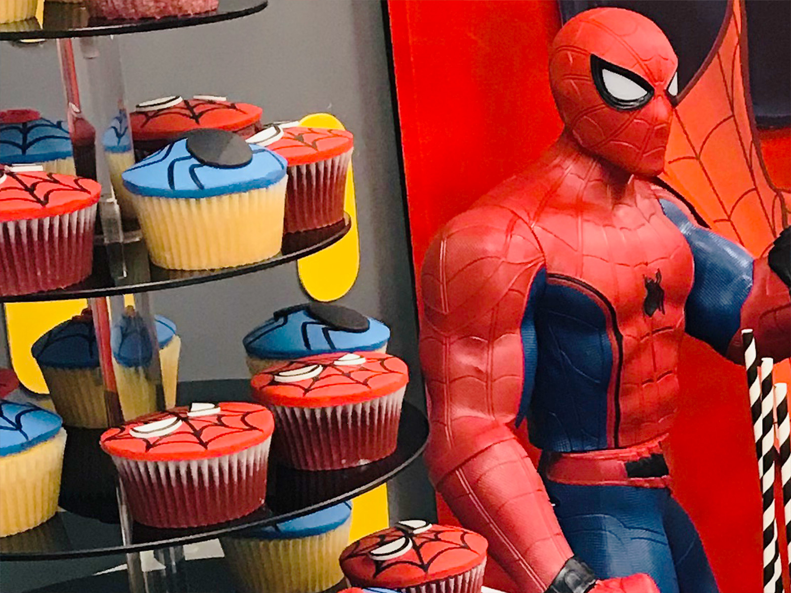 Spiderman themed birthday